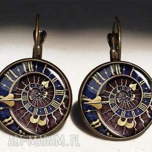 naszyjniki prezent steampunk - sekretnik z łańcuszkiem