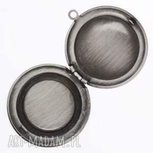 szare naszyjniki steampunk steampunkowa sowa - sekretnik