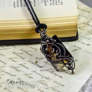 naszyjniki romantyczny surja - naszyjnik z agatem