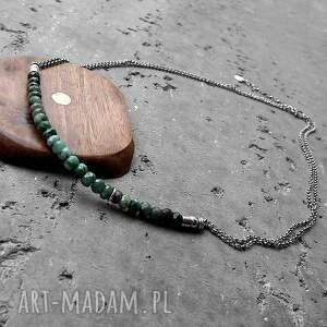 z kamieni naszyjniki delikatny kobiecy naszyjnik, z nowej kolekcji