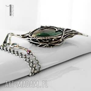 wyraziste naszyjniki baśniowy taivas v srebrny naszyjnik