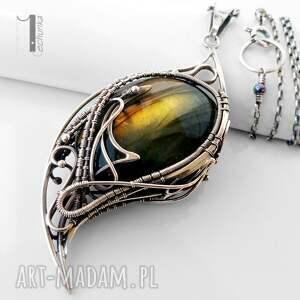 srebro naszyjniki pomarańczowe taivas v srebrny naszyjnik