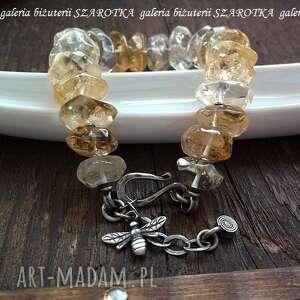 handmade naszyjniki cytryn taka słodka bransoletka z cytrynów