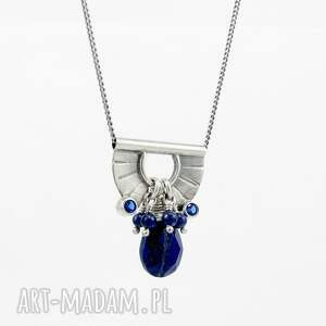 intrygujące drobny tiny pendant and lapis lazuli drop