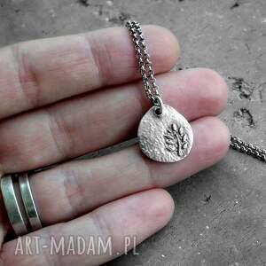 nowoczesny naszyjniki tree of life - srebro ag 925
