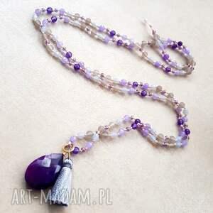 naszyjniki długi ultra violet