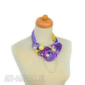 frapujące naszyjniki ultrafiolet naszyjnik handmade