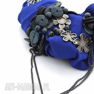 OHEVE HandmadeDesign naszyjniki: ultramaryna naszyjnik handmade - indygo
