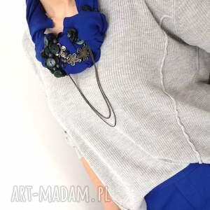 OHEVE HandmadeDesign naszyjniki: ultramaryna naszyjnik handmade - indygo kolia
