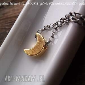 atrakcyjne naszyjniki księżyc w blasku księżyca minimalistyczny