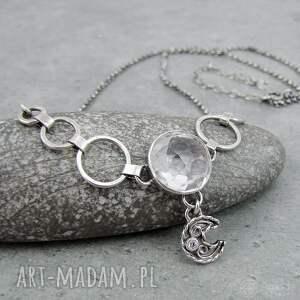 naszyjniki: W krysztale księżyca odbicie boho