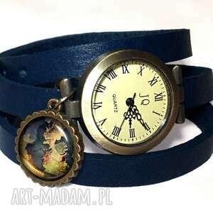 westeros naszyjniki niebieskie - medalion z łańcuszkiem