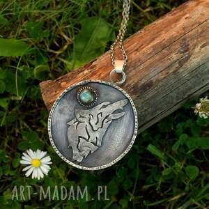 naszyjniki wilk amulet