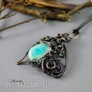 handmade naszyjniki wing - naszyjnik z wisiorem