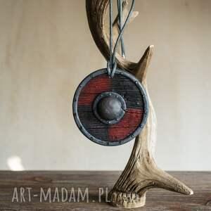 biżuteriaetniczna wisior tarcza wikinga