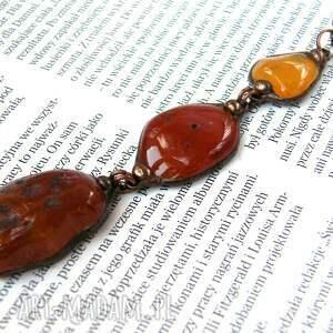 gustowne naszyjniki długi naszyjnik wisior z łańcuszkiem w brązowej