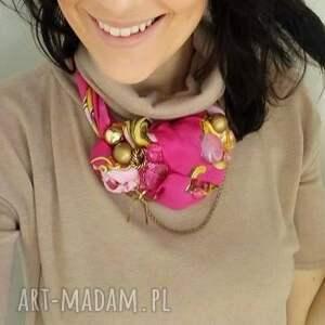 ręcznie zrobione naszyjniki wisior włóż róż naszyjnik handmade