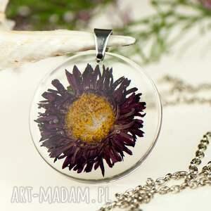 gustowne naszyjniki naszyjnik-z-kwiatem z1314 naszyjnik z prawdziwym