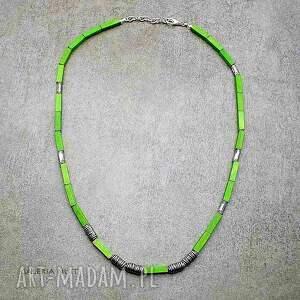 handmade naszyjniki uniwersalny zielony naszyjnik