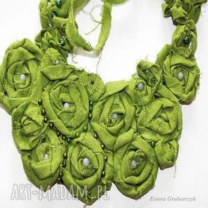 naszyjnik naszyjniki zielony