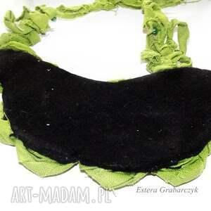 naszyjniki zielony naszyjnik