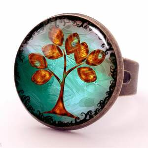 naszyjniki drzewo złote - sekretnik