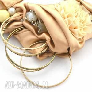 naszyjniki kolia złote piaski naszyjnik handmade