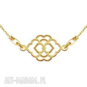 oryginalne naszyjniki bransoletka złoty naszyjnik z marokańską