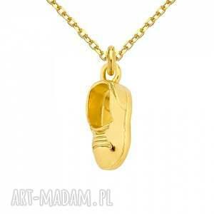 handmade naszyjniki srebro złoty naszyjnik z chłopięcym