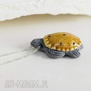 naszyjniki żółw 925 ii łańcuszek z peruwiań