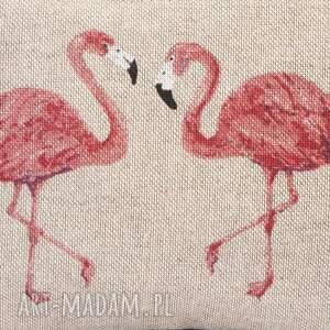 kangurka nerki miętowa z flamingami