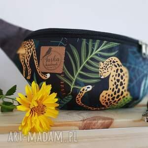 Tasha handmade nerki: Nerka - dzika pantera - maxi tropikalna