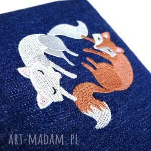 nerka nerki niebieskie xxl jeans upcykling liski