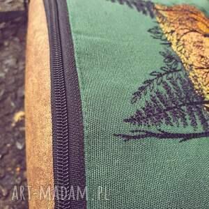 handmade nerki nerka xxl lisek na bawełnie
