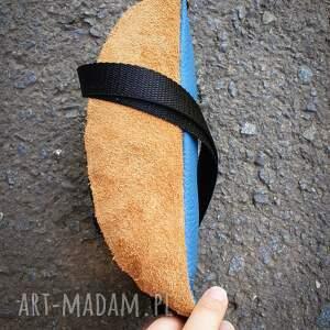 handmade nerki torebka na pas nerka mini skóra naturalna