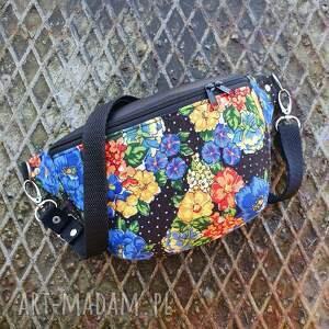 ręczne wykonanie nerki vintage nerka mini upcyklingowa kwiatowa