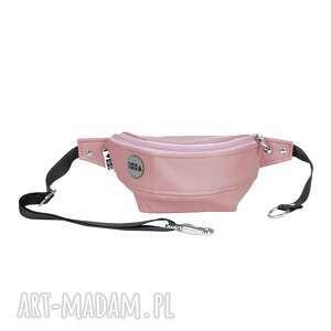 różowe nerki nerka różowa do noszenia w pasie, na biodrze lub