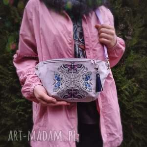 handmade nerki aksamit nerka xxl ćmy w kręgu