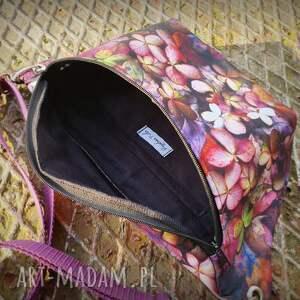 różowe nerki jesienna saszetka na pas nerka xxl