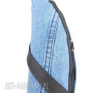 niebieskie nerki nerka xxl jeans upcykling
