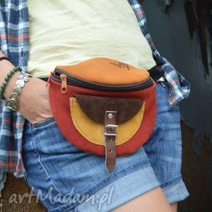 nerki: nerka zamszowa odcienie jesieni leather
