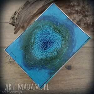 drzewo notesy album na zdjęcia z ręcznie malowaną