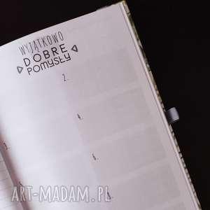 notesy fotograf kalendarz dla fotografa - aparat
