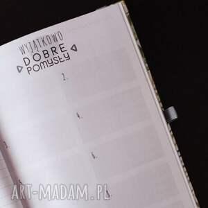 terminarz notesy kalendarz dla fotografa