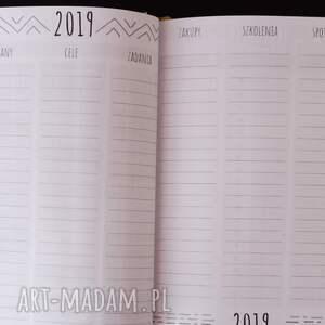 zielone notesy kalendarz terminarz dla fotografa