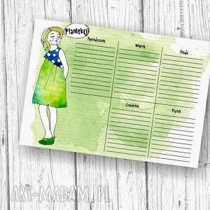 białe notesy notes komplet do szkoły dla dziewczynki
