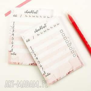 trendy notesy notes lista zadań do zrobienia, zestaw 2