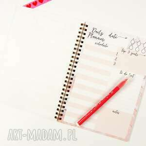 nietypowe notesy notes marmurowy notes, dzienny a5