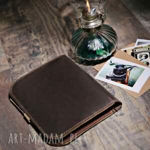brązowe notesy zeszyt notatnik, organizer, skórzany notes