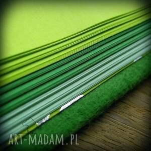 zielone notesy kot notes a6 z filcową twardą okładką